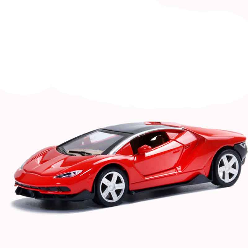 New Arrival 1:32 Alloy Car Model <strong>Toy</strong> Boys Pull Back Sports Car Model <strong>Toy</strong> With Baking Ornaments