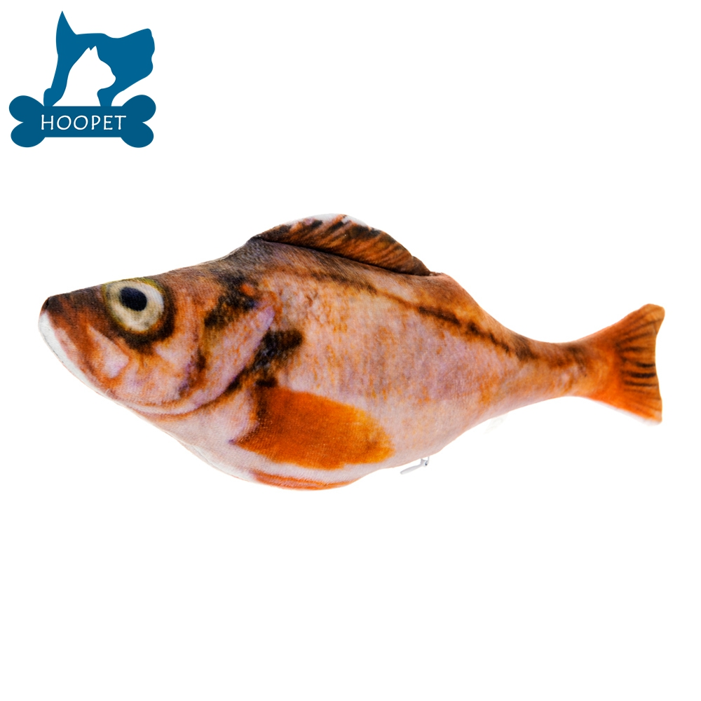 Realistic Toy Fish for Pet Dog with Squeeze Sound