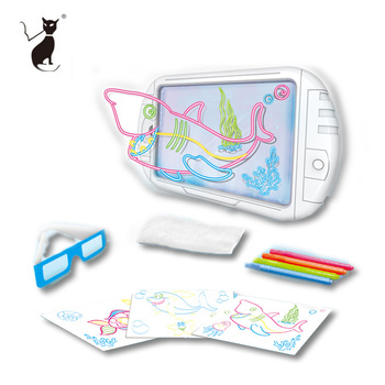 Electric Educational Toys 3d Magic Drawing Board For Kids Buy