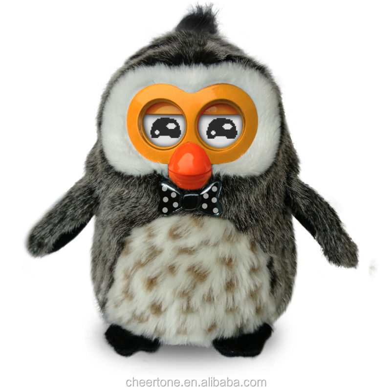 Electronic pet Toys Walking Singing Dancing Plush hibou Funny Toys