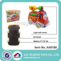 Children plastic mini electric fire truck