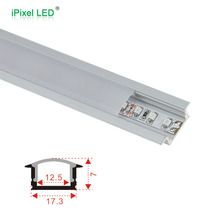 Anodized surface T5 LED Channel wing,u shape aluminum track channel,aluminum profile for led strip