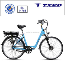 "28"" City Electric Bicycle Belt Drive System for Lady"
