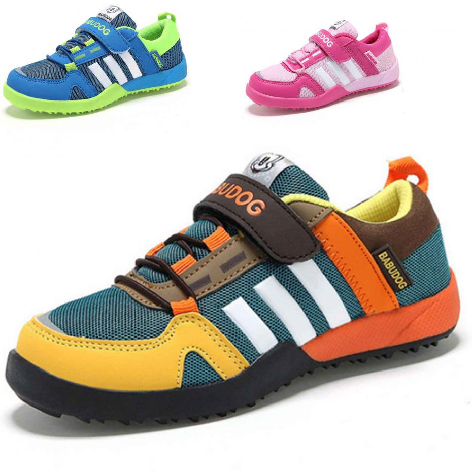 New Boy's Girl's Breathable Mesh Sneakers For Children Shoes Autumn Casual Flats Sports Running Shoe Size 26-37 Little Big Kids