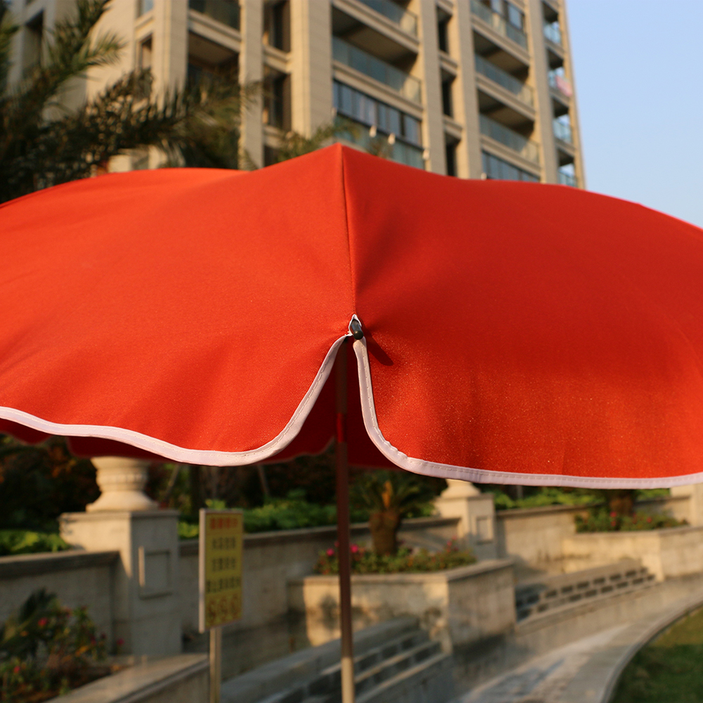 7ft outdoor beach parasol umbrella with polyester fabric Perfect for Outdoors, Patio, or any Parties