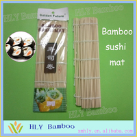 Best polished bamboo table rolling sushi mat wholesale