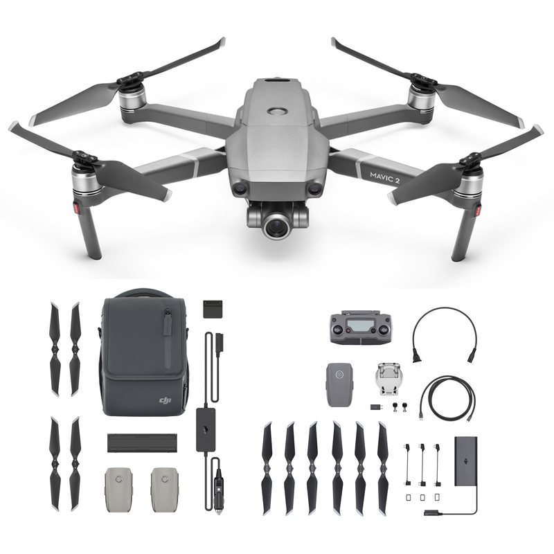 Original Dji Mavic 2 Zoom Fly More Combo 4k Drone With Batteries And  Accessories - Buy Dji Mavic 2 With Fly More Kit,Dji Mavic 2 Pro,4k Drone  Product