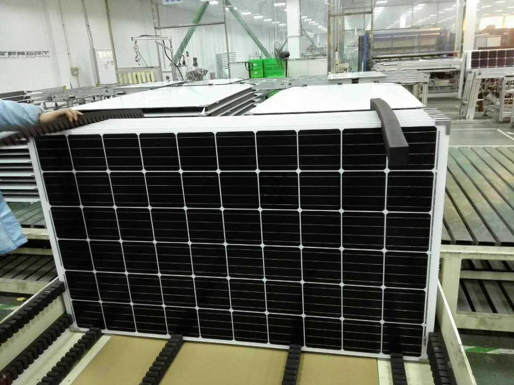 Transparent Solar Panel Double Glass Pv Modules For Low