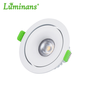 Luminans cheap 12w dali dimming led cob recessed downlight