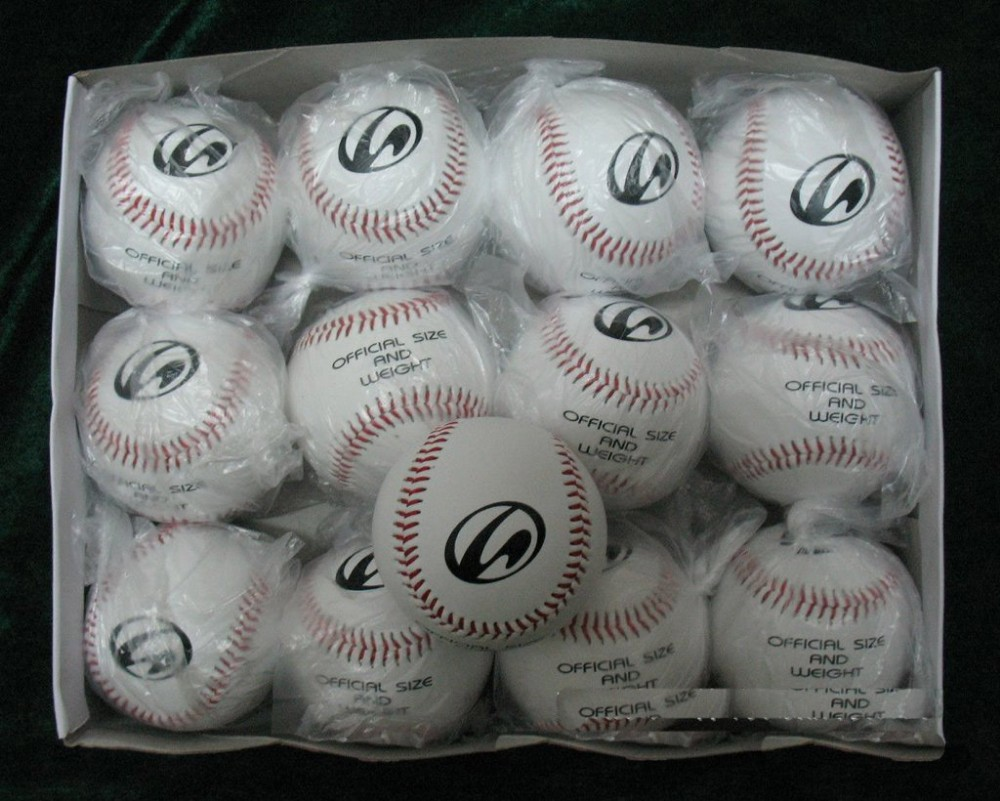 High Quality 12 Inch PU PVC Softball Baseball Soft Cork Ball Customize Softball Filling