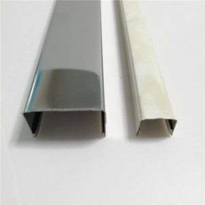 manufacturer bronze decorative metal strip different types of skirting board