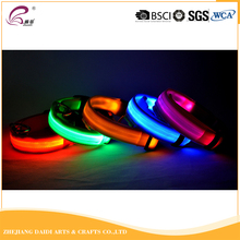 Beliebte USB Wiederaufladbare Blinkende Led <span class=keywords><strong>Hundehalsband</strong></span>