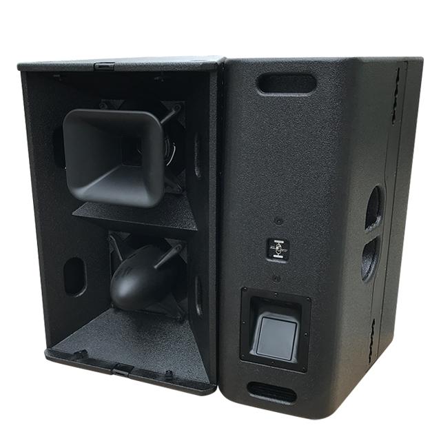 2019 Hot selling T24N 1000w dj sound system dual 12inch loudspeaker box
