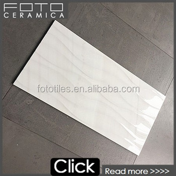 300x600 gloss ice ripple white rectified edge wall tile buy ice