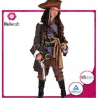 Famous movie costume supplier Pirates of the Caribbean character halloween fancy dress pirate costume