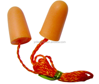 Disposable PU Foam Ear Plugs withcord