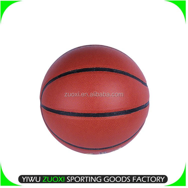 Hot Selling OEM quality full color printed rubber basketball for wholesale