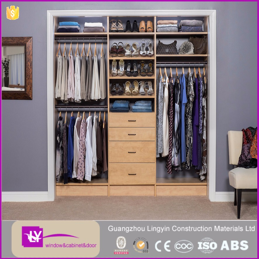 Simpel Design Clothes Storage Cabinet With Drawer Shoe Racks No Door  Wardrobe Solid Wood Almirah Godrej