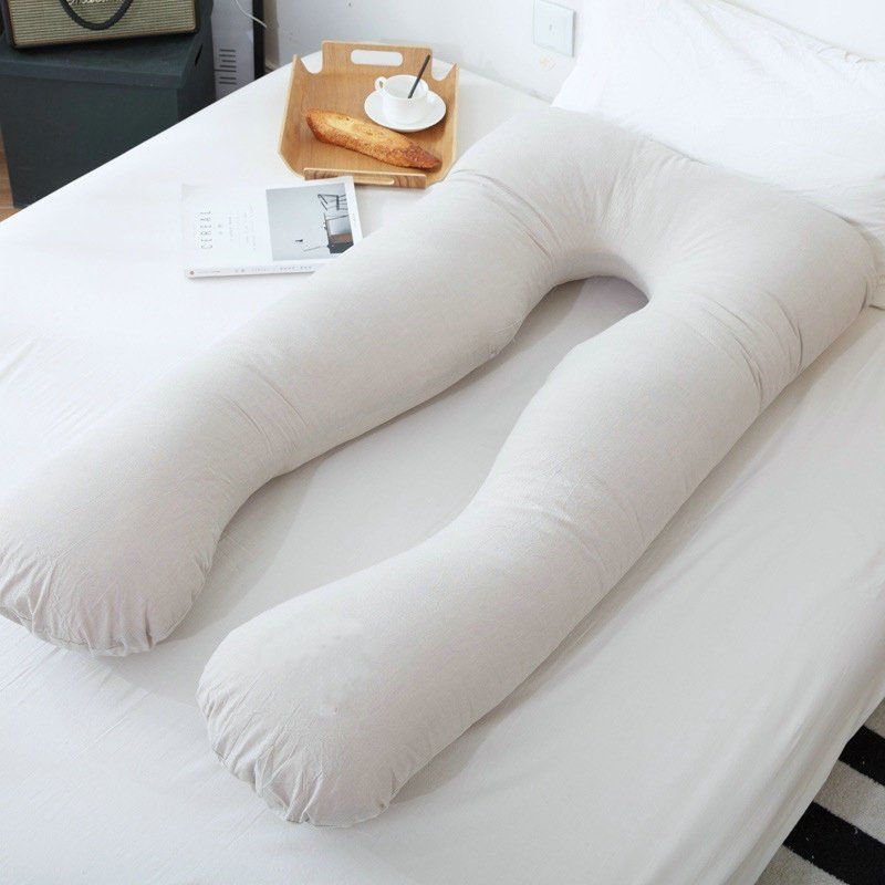 U Shape Full Body Pregnancy Pillow   Hypoallergenic Maternity