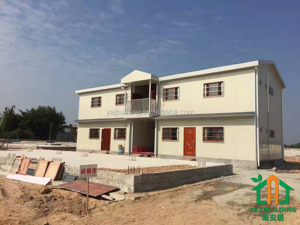 Supply mordern steel prefab apartment construction