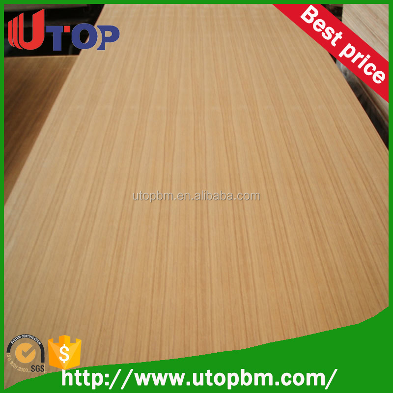 competitive price natural teak plywood for India or Iraq market