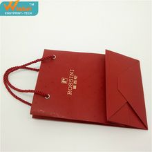 Free design unique luxury watch packaging shopping paper bag,paper bag with logo print