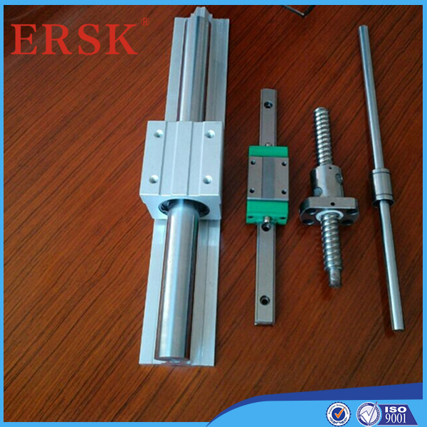 An excellent production team GCr15 bearing steel linear guide rail building block for laser engraving machine