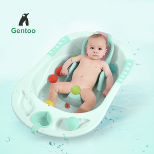 Portable child size baby bath tub support