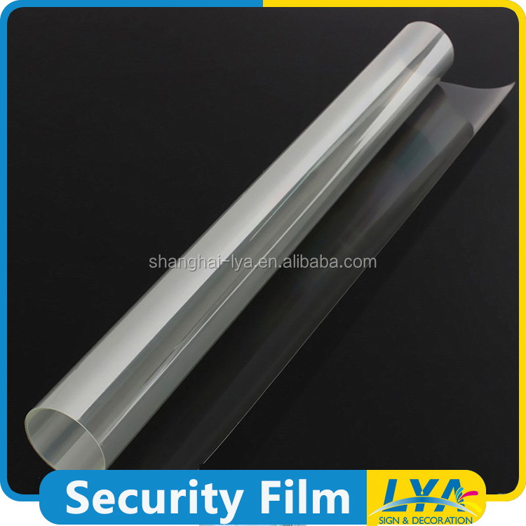 new design classical bullet proof safety glass film