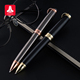customized Logo promotional business metal ball point pen /twist roller pen gift set