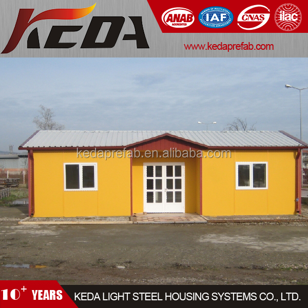 Prefabricated Bunk House as Modular Home Bungalow in Low Price
