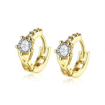Factory Supplies Saudi Fashion Jewelry Design 18k Gold Plated