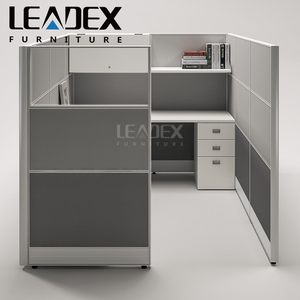 60 mm thickness modern office manager cubicle workstation