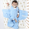 New baby swaddle wrap ! Baby Swaddle 100% Cotton muti function Blanket Adjustable Infant Wrap