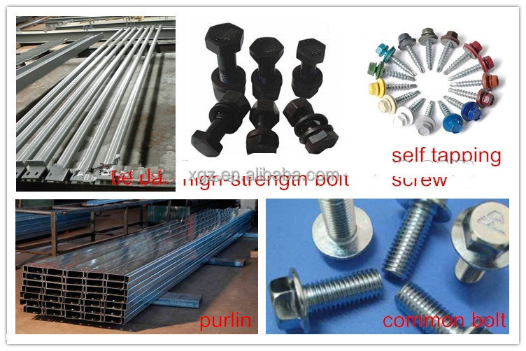 Construction Design Low Cost Prefab Prefabricate Sheds Steel
