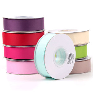 "Cheap wholesale polyester 1"" high quality striped grosgrain ribbon"