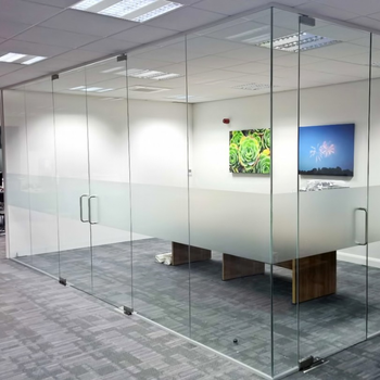 Factory Sheet Float Clear Interior Glass Partitions, Plywood Partition  Wall, Moveable Office Walls