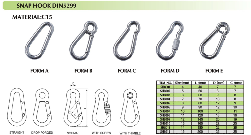 High Standard Aluminum Climbing Carabiners for Sale