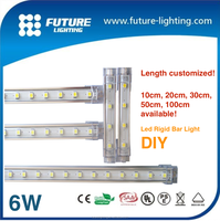 2016 Shenzhen quality CE/RoHS 6w 50cm led linear light led bar