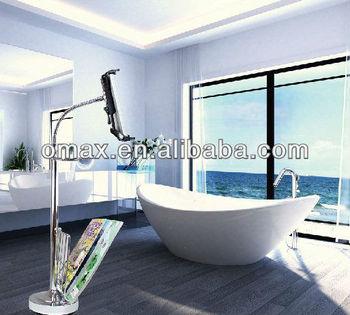 Badkamer Tablet Staan Met Wc-papier Houder Ipad Stand - Buy Badkamer ...