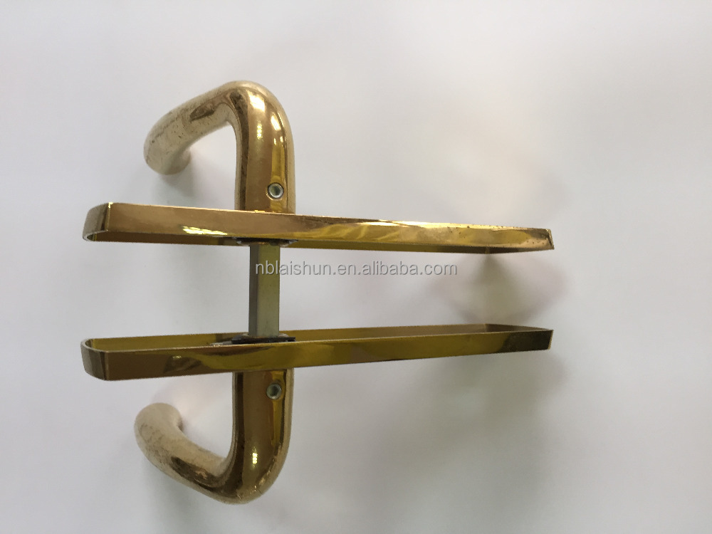 Antique Brass Effect Curtain Poles