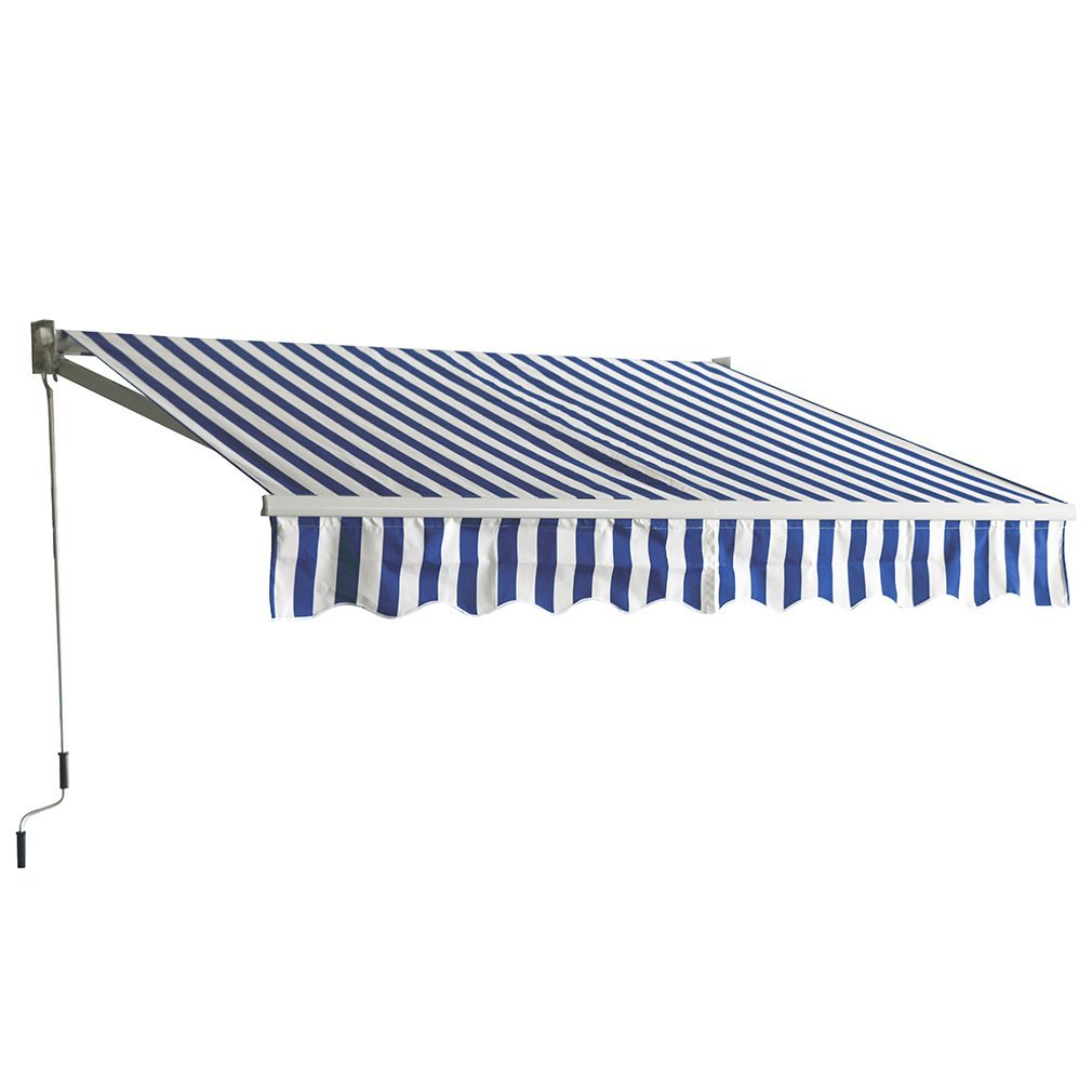 Exceptionnel Get Quotations · 13u0027x8.2u0027 Patio Manual Retractable Sun Shade Awning, Door  Awnings Canopy