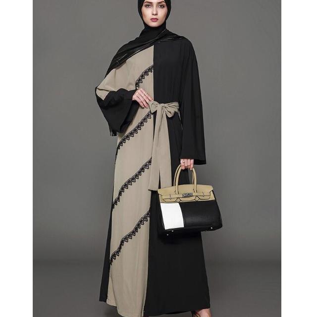 3a1c3c212 Manga larga musulmán más tamaño vestido Oriente Medio túnica Islámica