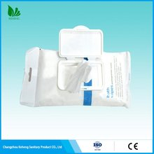Professional manufacturer high reflective pet single use wet wipes