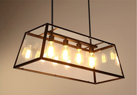 Factory price square ceiling light with wide view