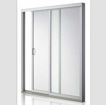 Frosted Glass Aluminium Bathroom Doors Designs