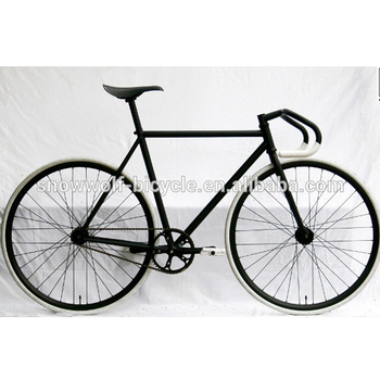 Matte Black Steel Frame Sport Model Bikes/single Speed Bicycle Sw ...