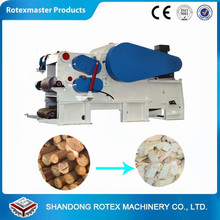 Industrial Wood Drum Chipper / Used Tree Cutting Machine Price