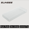widely range diameter quality assurance acrylic mirror serving tray