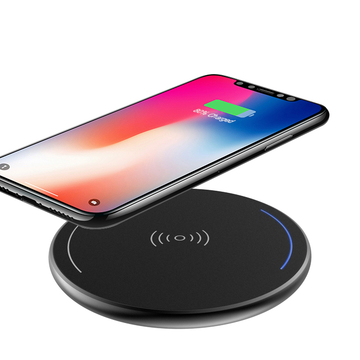 Qi Wireless cell mobile phone desktop usb charger for mobile phone with a wireless charge